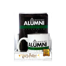 Load image into Gallery viewer, Harry Potter Slytherin Alumni 2 Piece Gift Set | Journal and Mug