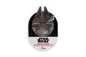 Star Wars Millennium Falcon Special Edition Collector Pin - Die Cast Metal