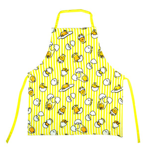 Gudetama The Lazy Egg All Over Print Yellow Adult Kitchen Apron