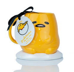 Gudetama Collectible | Gudetama The Lazy Egg 3D Ceramic Mug 16 Ounces