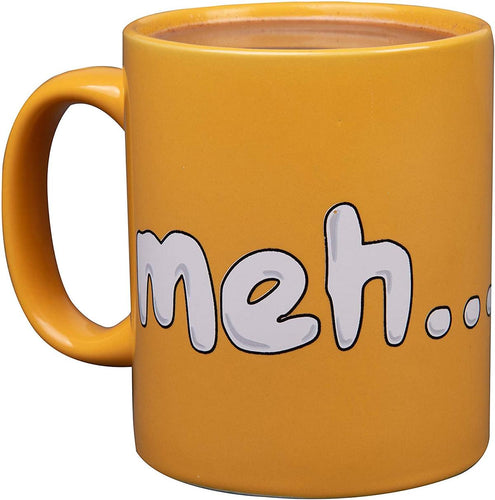 Gudetama The Lazy Egg 11oz Ceramic Meh Mug