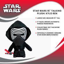 "Load image into Gallery viewer, Star Wars 15"" Talking Plush: Kylo Ren"