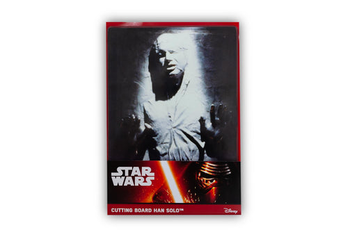 Star Wars Han Solo Frozen in Carbonite Glass Cutting Board