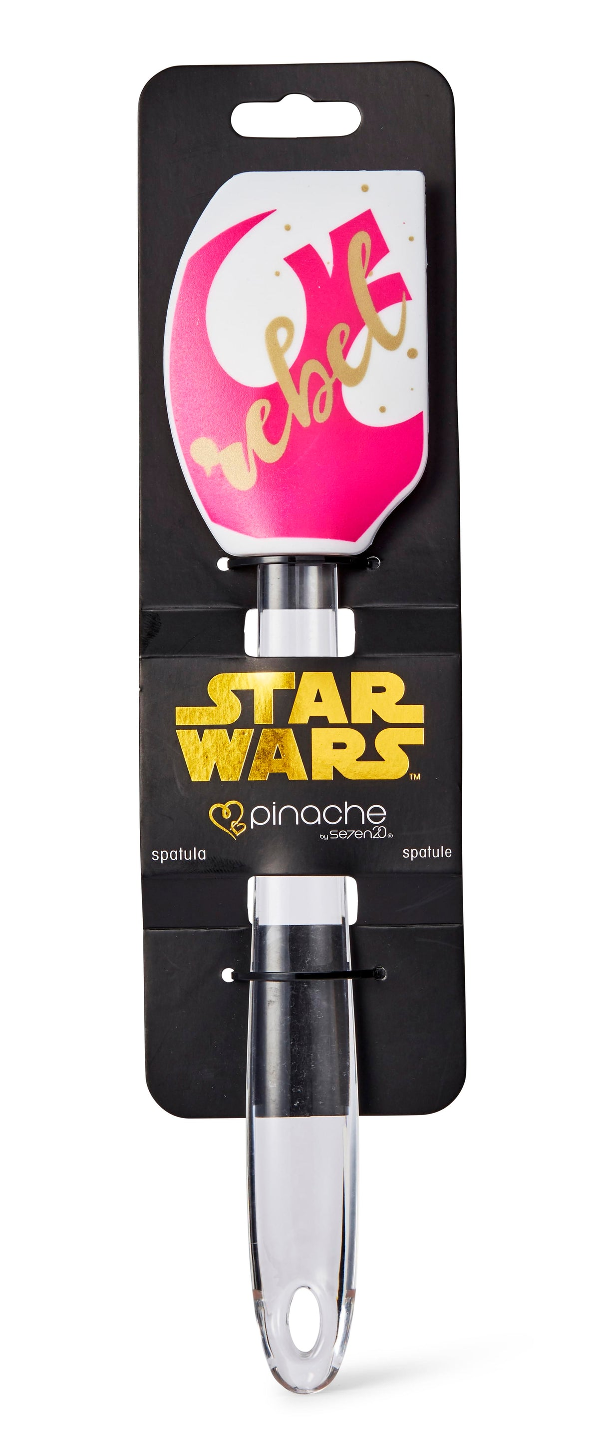 Star Wars White/Pink Rebel 11 Inch Silicone Spatula