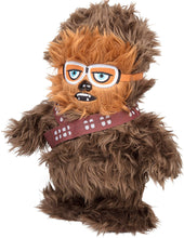 "Load image into Gallery viewer, Star Wars Chewbacca Interactive Walk N' Roar | Moves & Makes Noise | 12"" Plush w/ Millennium Falcon Pin"