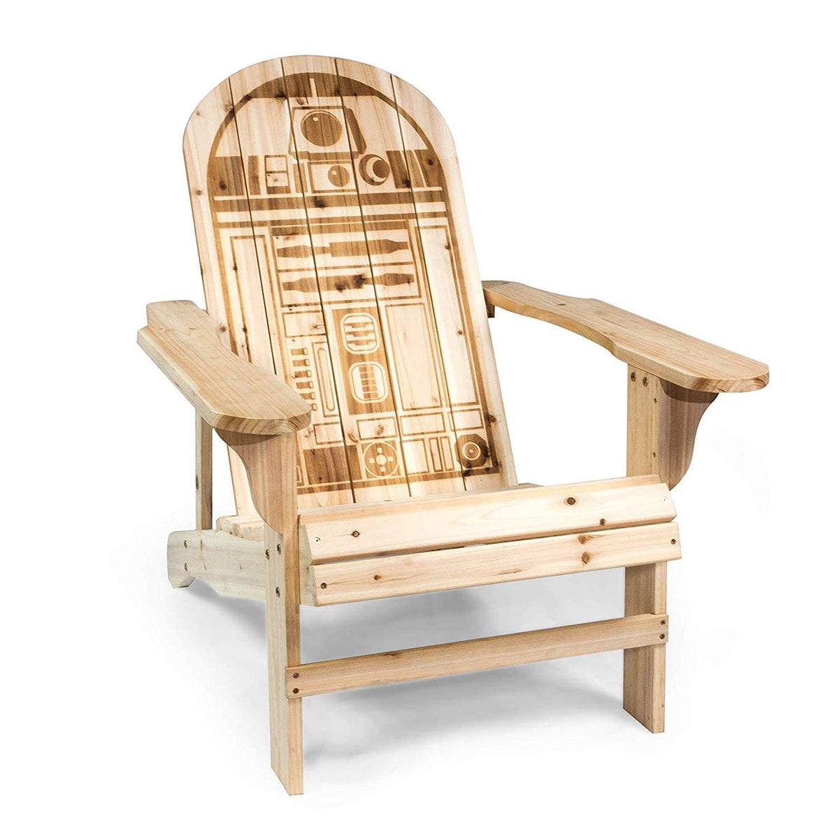 Star Wars R2-D2 Adirondack Wooden Outdoor Chair
