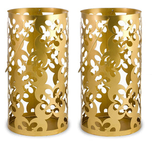 Star Wars Gold Stamped Lantern | Rebel Symbol | 11.5 Inches | Set of 2