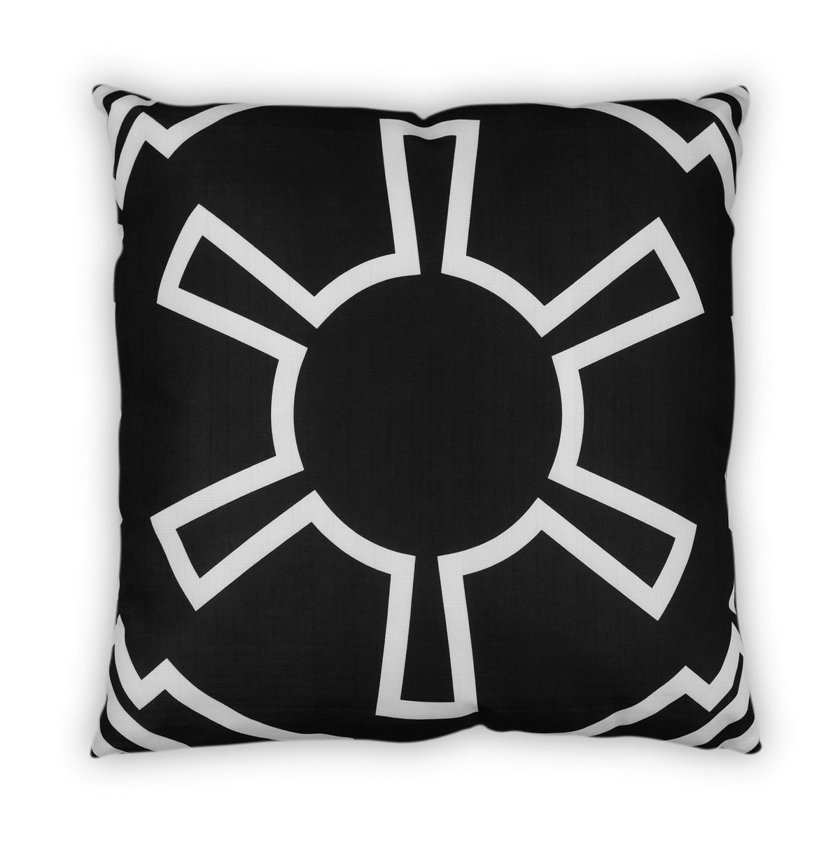 Star Wars Large Throw Pillow | Empire Imperial Symbol Design | 25 x 25 Inches