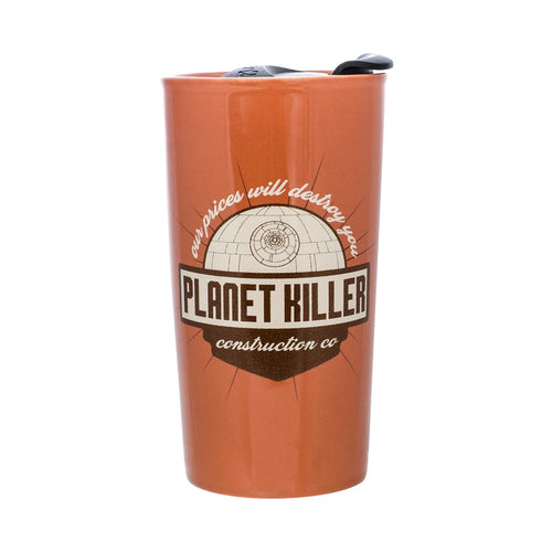 Star Wars Planet Killer 12oz Travel Mug with Lid