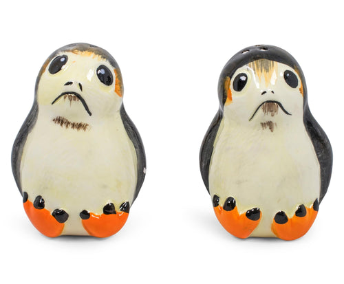 Star Wars Porgs Salt & Pepper Shakers | Official Star Wars Ceramic Spice Shakers