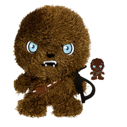 Star Wars Chewbacca Stylized 7 Inch Plush With Enamel Pin