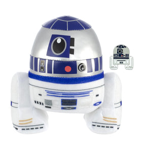 Star Wars R2-D2 Stylized 7 Inch Plush With Enamel Pin