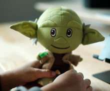 Load image into Gallery viewer, Yoda Stylized 7 Inch Plush With Enamel Pin