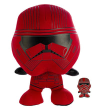 Load image into Gallery viewer, Star Wars Sith Trooper Stylized 7 Inch Plush With Enamel Pin
