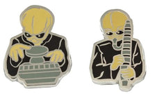 Load image into Gallery viewer, Cantina Villains Plush Set of 4 And 4 Exclusive Cantina Band Enamel Pins