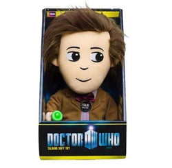 "Doctor Who 11th Doctor w/ LED Sonic Screwdriver 9"" Talking Plush"