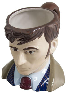 Doctor Who Toby Jug 10th Doctor Ceramic Mug