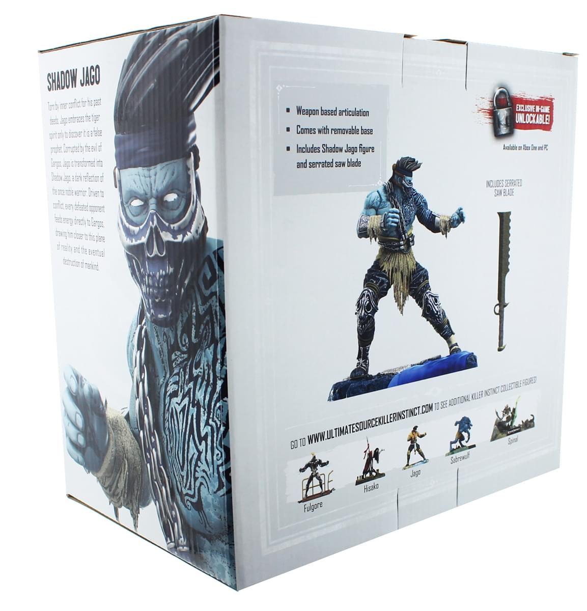 "Killer Instinct 6"" Collectible Figure Shadow Jago"