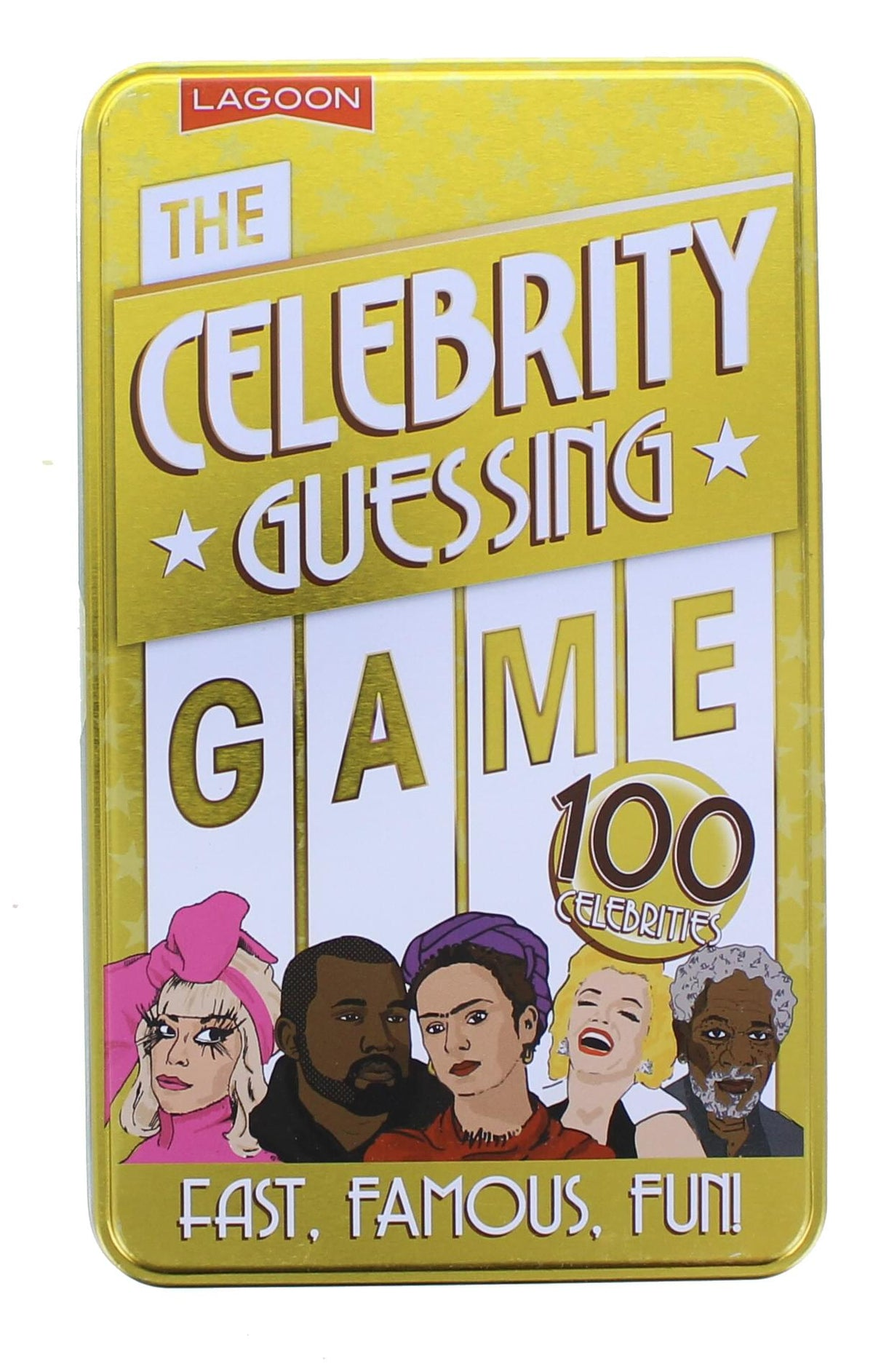The Celebrity Guessing Card Game | For 4+ Players
