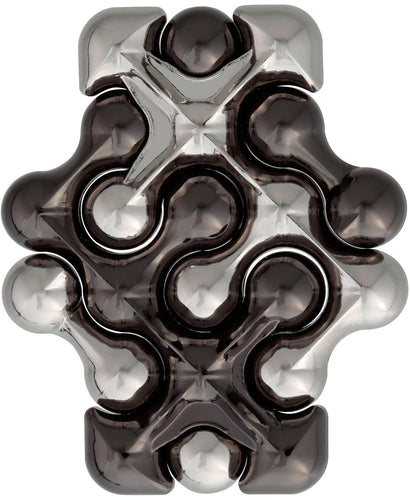 Hanayama Level 2 Cast Metal Brain Teaser Puzzle - Dot