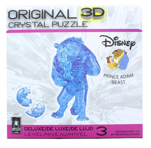 Disney The Beast 49 Piece 3D Crystal Jigsaw Puzzle