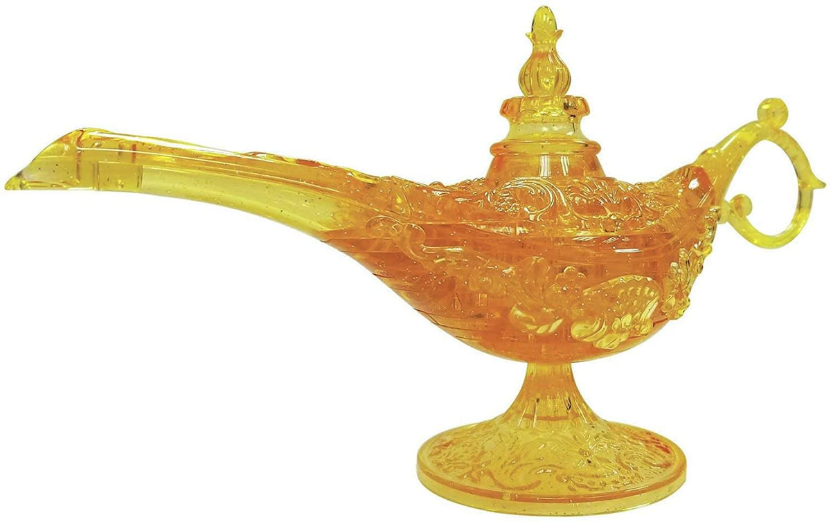 Magic Lamp 34 Piece 3D Crystal Jigsaw Puzzle