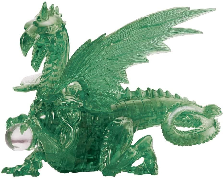 Green Dragon 56 Piece 3D Crystal Puzzle