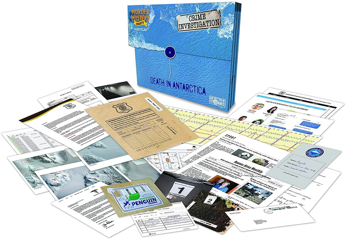 Murder Mystery Adult Party Game | Death in Antartica