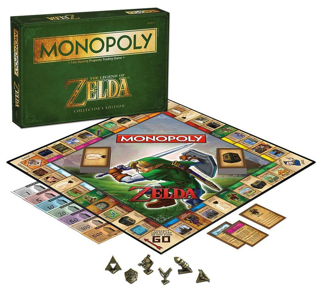 Monopoly Legend Of Zelda Collector's Edition Boardgame