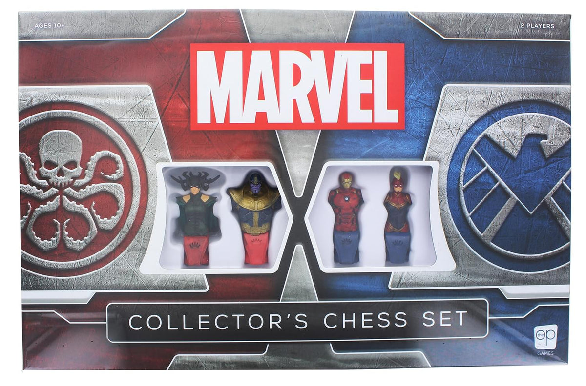 Marvel Collector's Chess Set | HYDRA vs. SHIELD | 32 Custom Pieces