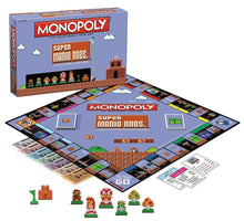 Load image into Gallery viewer, Super Mario Bros Monopoly Collector's Edition Board Game