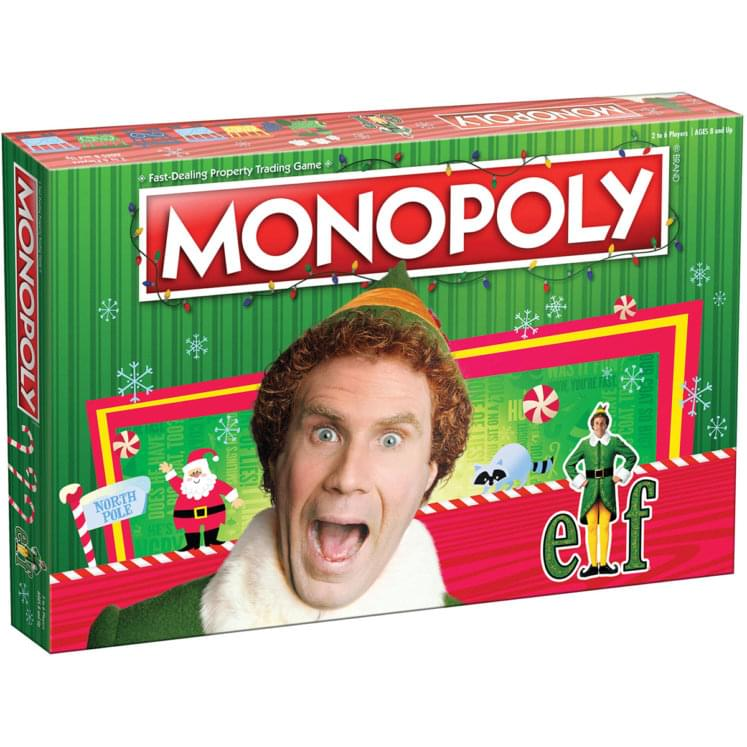 Elf Monopoly Board Game | For 2-6 Players