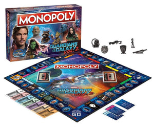 Guardians of the Galaxy Vol. 2 Monopoly Board Game