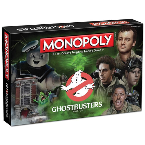 Ghostbusters Collector's Edition Monopoly Board Game