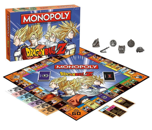 Dragon Ball Z Monopoly Board Game
