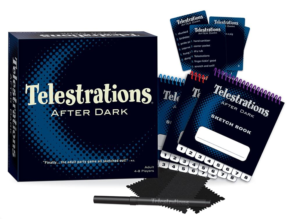 Telestrations After Dark Party Game