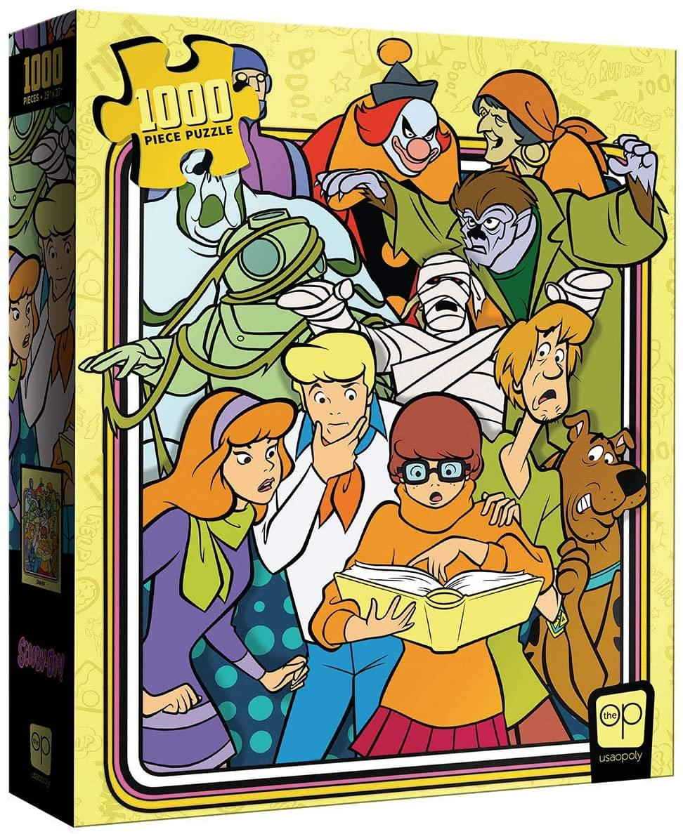 "Scooby-Doo! ""Those Meddling Kids!"" 1000 Piece Jigsaw Puzzle"