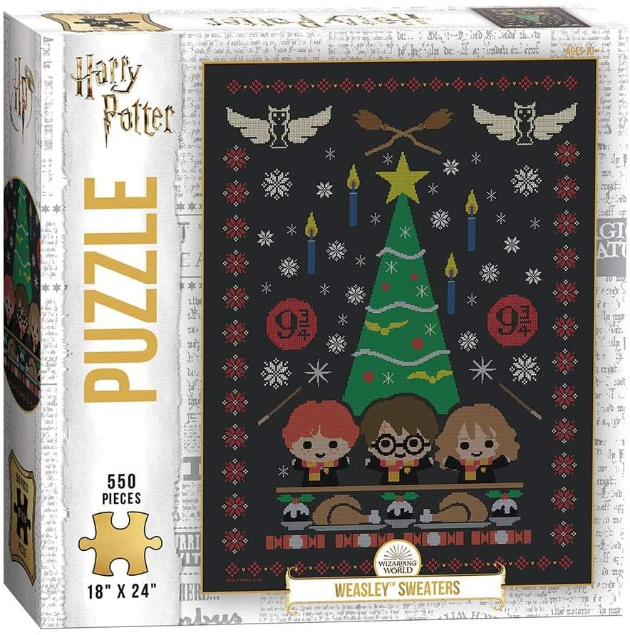 Harry Potter Weasley Sweaters 550 Piece Jigsaw Puzzle