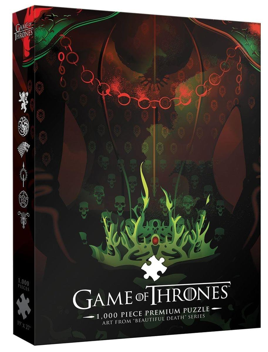"Game of Thrones ""Long May She Reign"" 1000-Piece Puzzle"