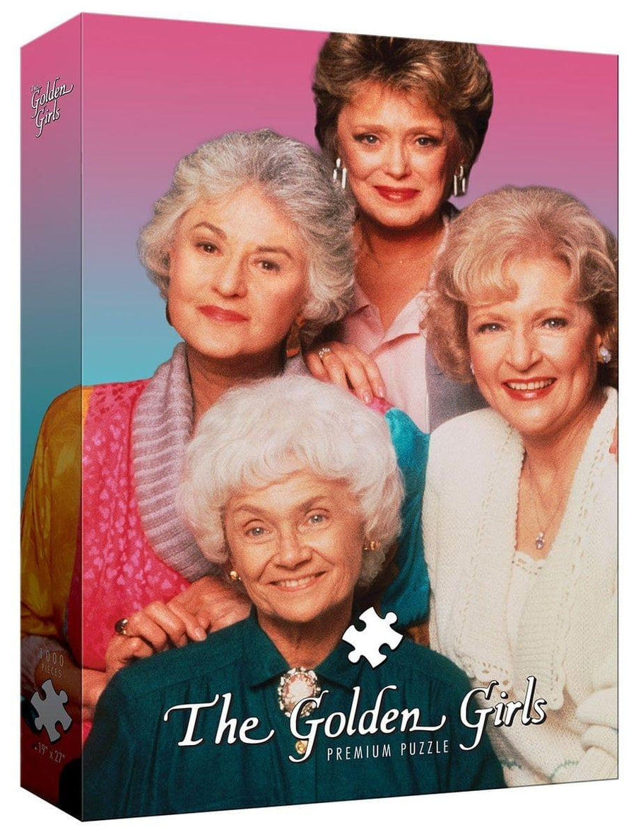 The Golden Girls 1000-Piece Puzzle