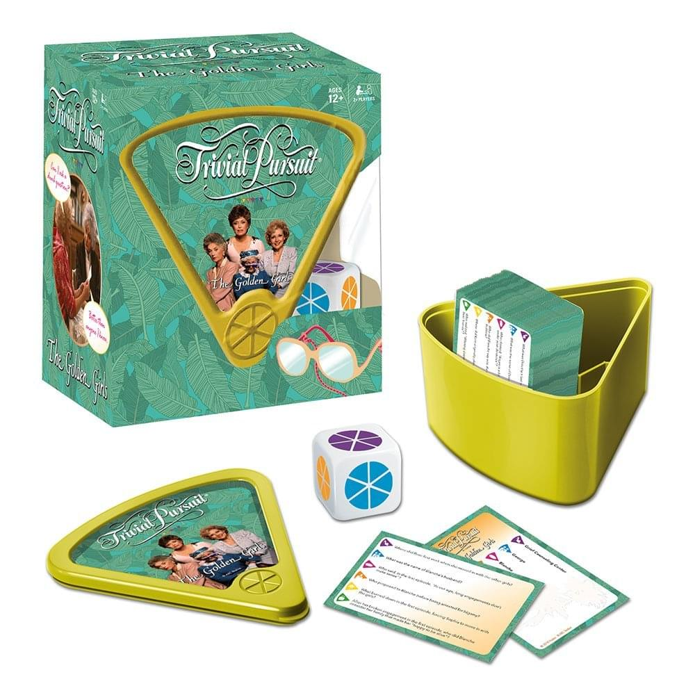The Golden Girls Trivial Pursuit Board Game