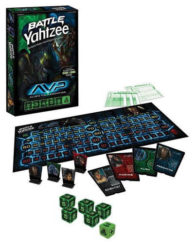 Alien vs. Predator Battle Yahtzee Dice Game