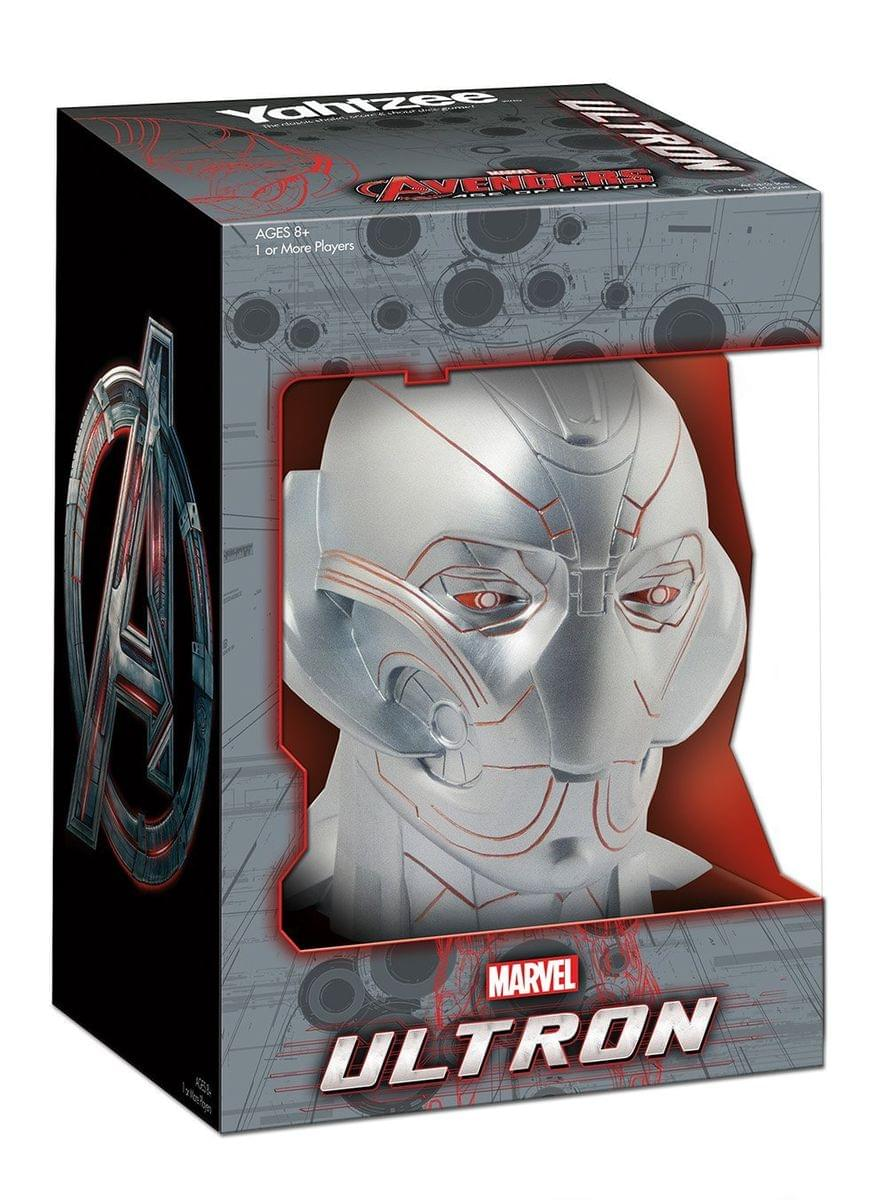 The Avengers Ultron Yahtzee Dice Game