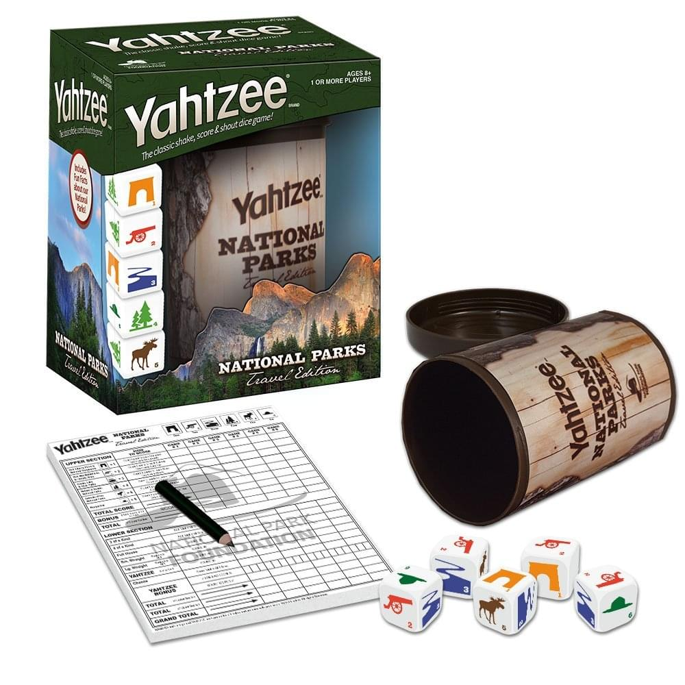 National Parks Yahtzee Dice Game