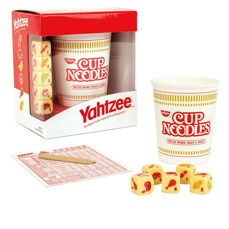 Cup Noodles Yahtzee Dice Game | For 1+ Players