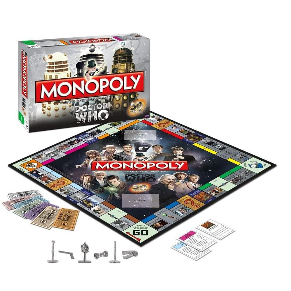 Monopoly Doctor Who Collector's Edition Boardgame