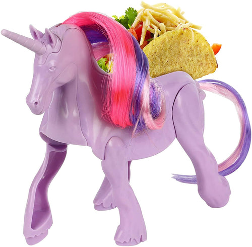 Unicorn Magic Sculpted Taco & Snack Holder