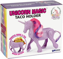 Load image into Gallery viewer, Unicorn Magic Sculpted Taco & Snack Holder