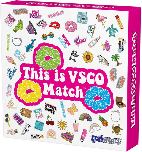 This is VSCO Match Card Game | Quick & Fun Matching Game
