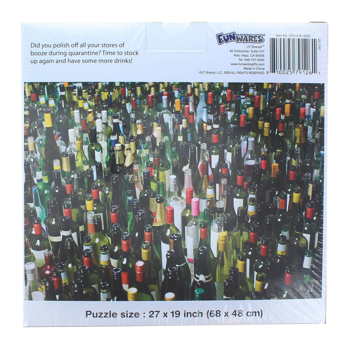 Wine Time Puzzle 1000 Piece Jigsaw Puzzle